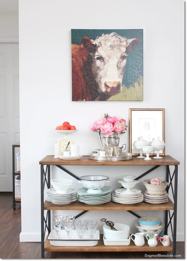 """""""Thrifty & Vintage Finds"""" Link Party 101 – Thrifty Farmhouse Table"""