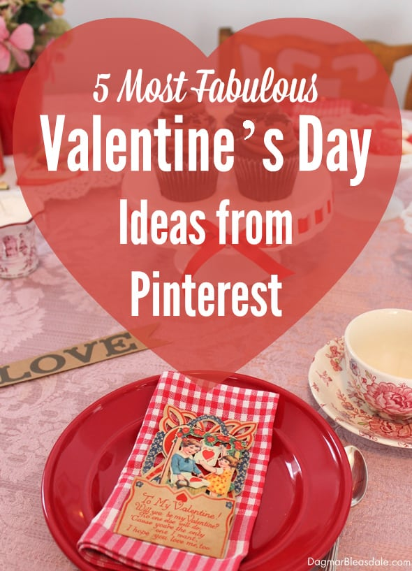Valentine's Day ideas from Pinterest