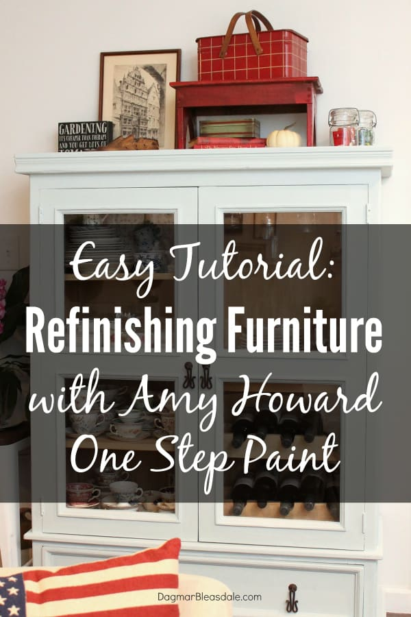 refinishing furniture with Amy Howard paint, DagmarBleasdale.com