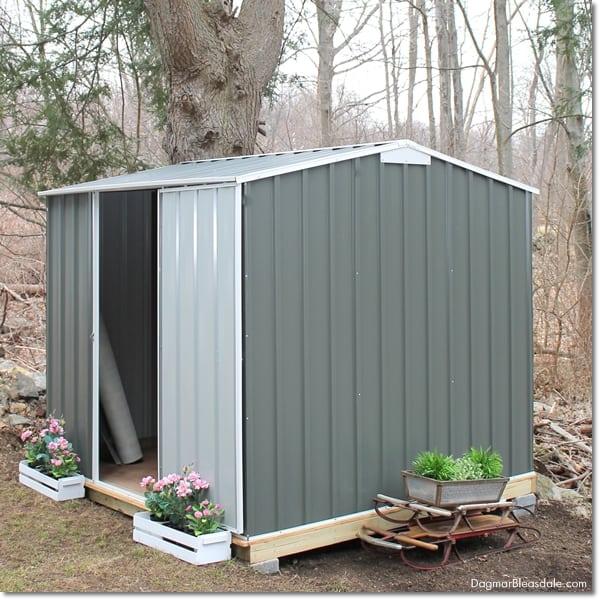 DIY shed, EnduraShed sold by BuildDirect