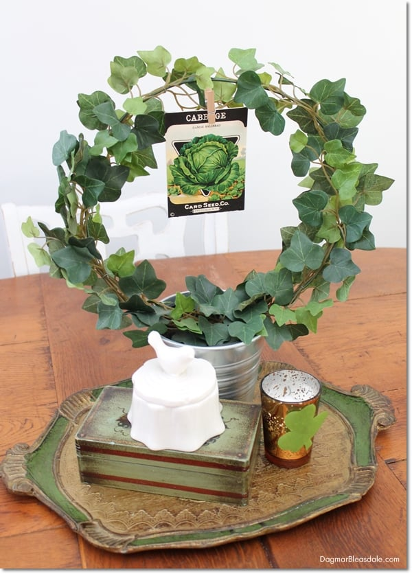 St. Patrick's Day banner and decor, easy DIY tutorial