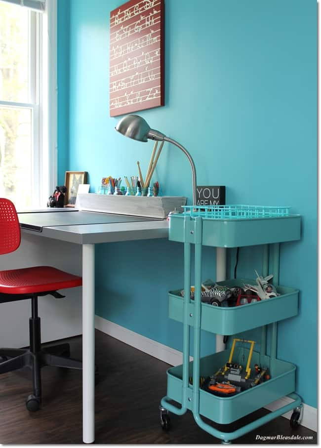 Turquoise boy bedroom, DagmarBleasdale.com