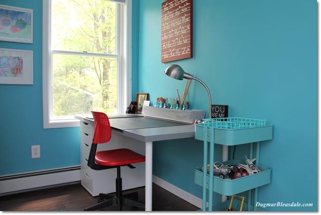 IKEA Bedroom Makeover, boy room, DagmarBleasdale.com