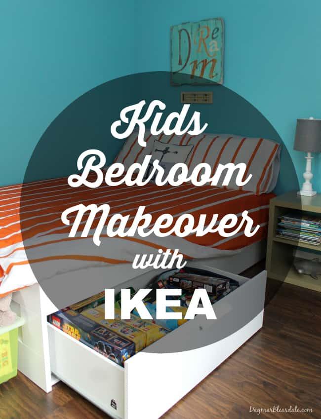 IKEA bedroom makeover, DagmarBleasdale.com