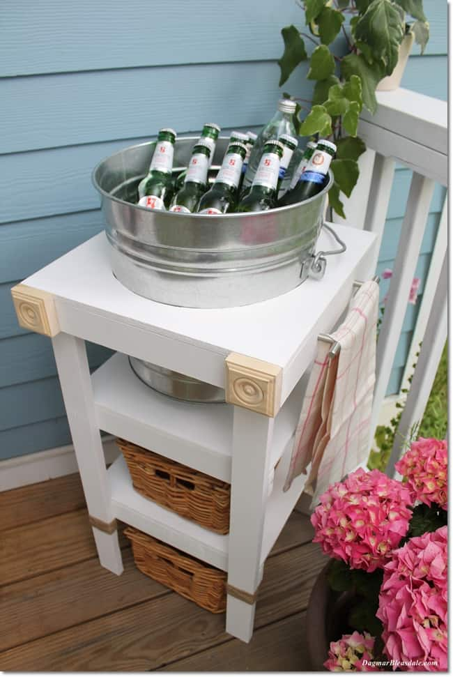 DIY beverage station tutorial