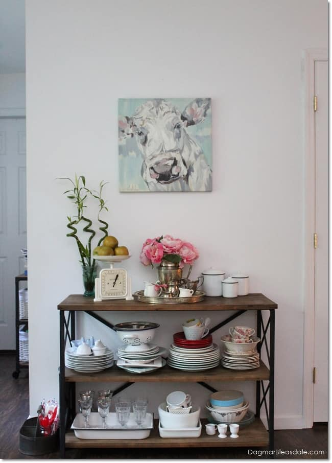 """""""Thrifty & Vintage Finds"""" Link Party #132 – Cow Painting"""