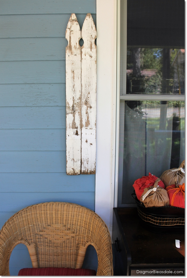 DIY shutters from fence pickets, DagmarBleasdale.com