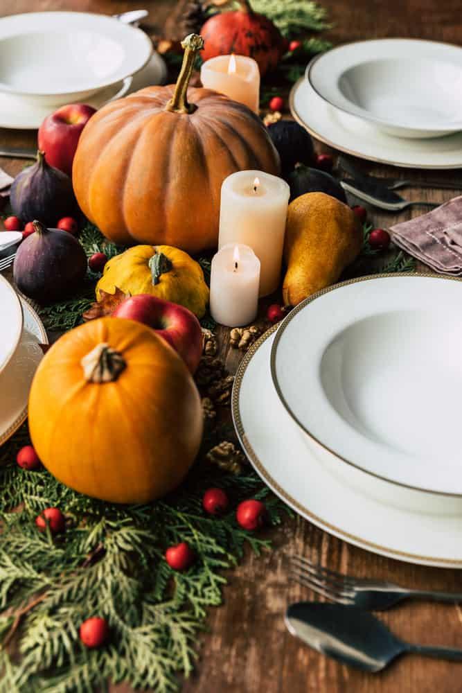 Easy Thanksgiving Table Decor Ideas