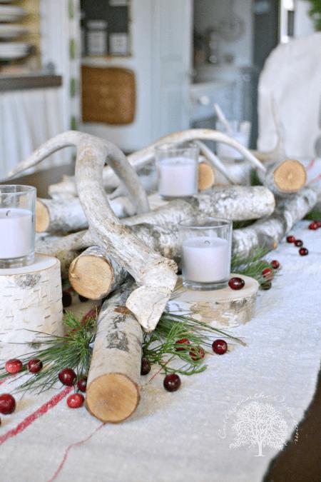 Christmas table decorations ideas, DagmarBleasdale.com