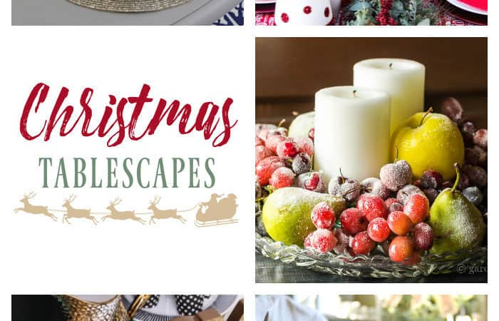 Christmas Table Decorations — 5 DIY Ideas
