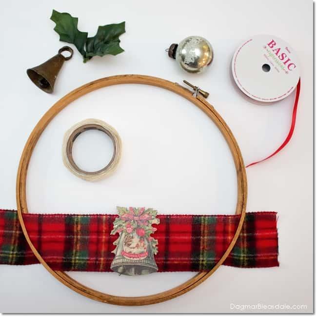 Easy DIY embroidery hoop gift