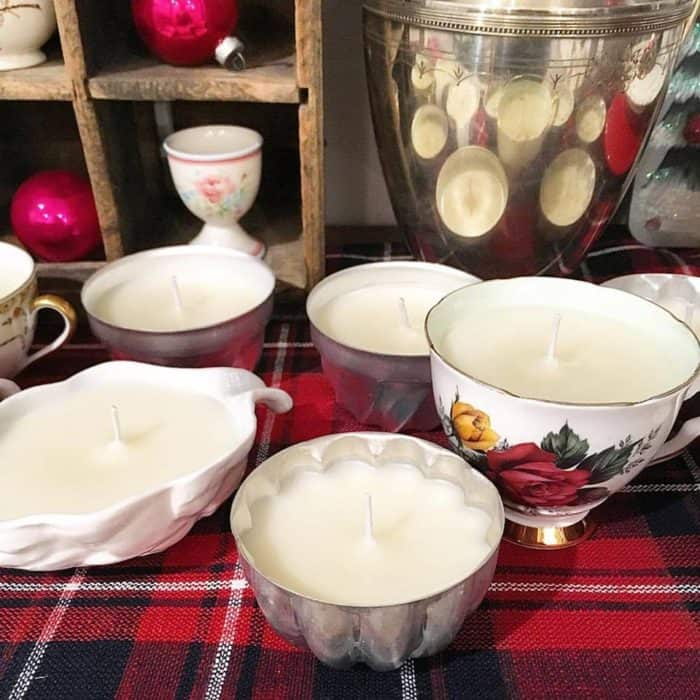 diy candles, DagmarBleasdale.com