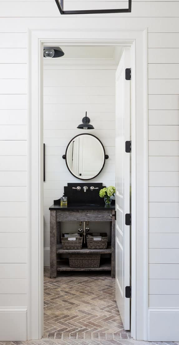 Shiplap Paneling -- 11 Stunning Examples of the Farmhouse Shiplap Look