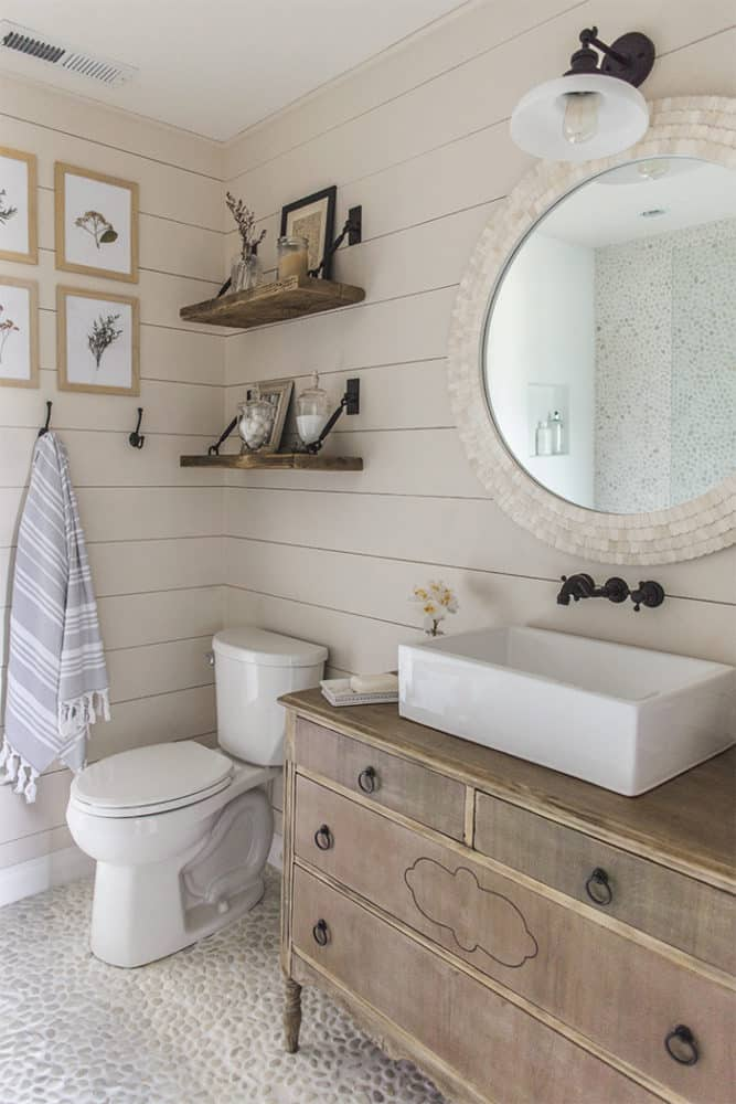 9 Wall Storage Ideas That You Need To Try: 11 Stunning Examples Of Farmhouse Shiplap Paneling