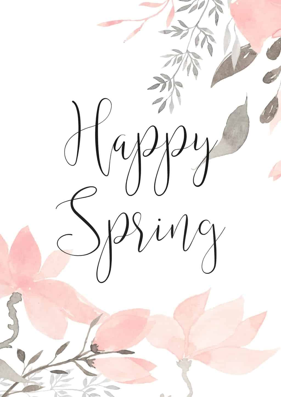 Happy-Spring-Printable