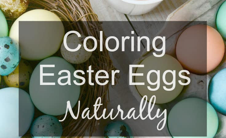 Coloring Easter Eggs Naturally and Making Alien Eggs