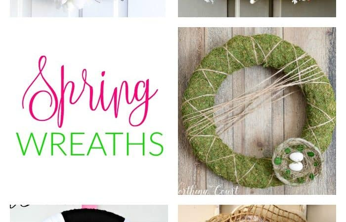 Spring Wreaths Ideas That Are Totally Unique