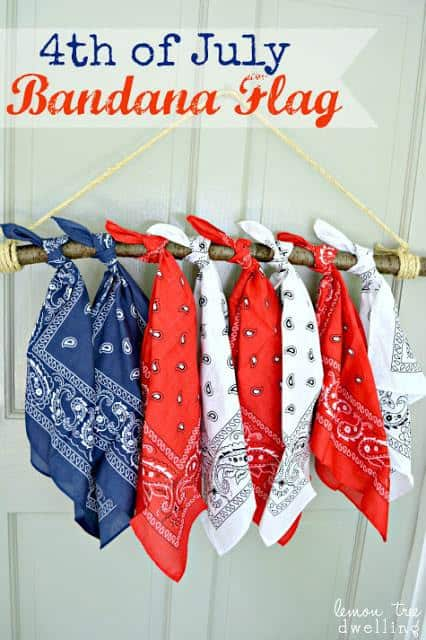 4th of July Decorations - DIY Flag Ideas and More, 4th of july decorations banner