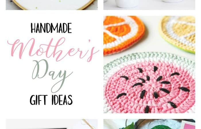 5 Pretty Handmade Mother's Day Gift Ideas