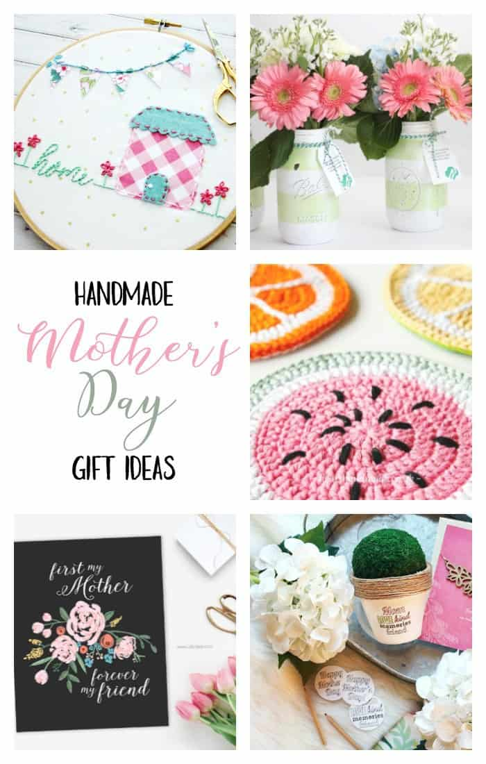 Mother's Day Gift Ideas, handmade gifts
