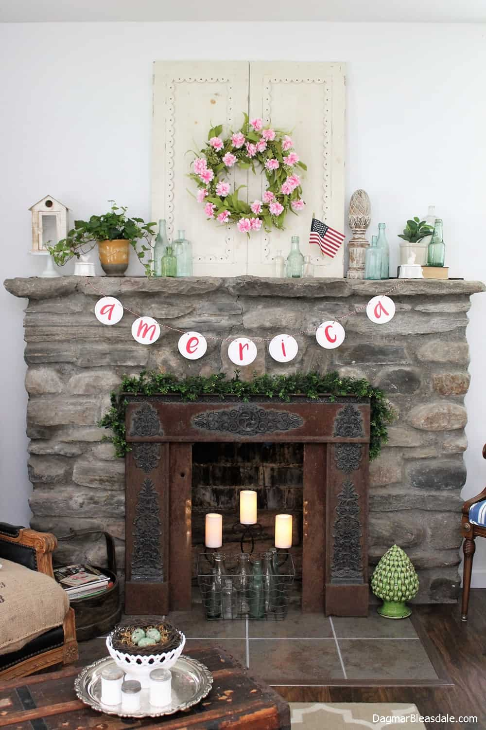 4th of July Decorations - DIY Flag Ideas and More