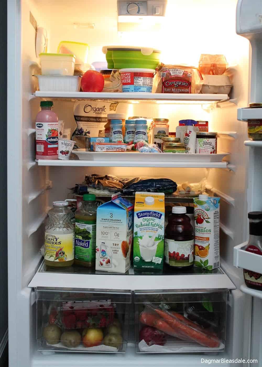 Refrigerator Organization Tips and Hacks, DagmarBleasdale.com