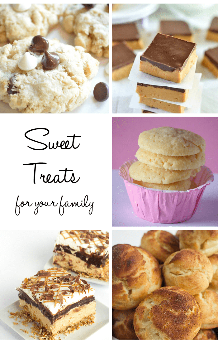 Sweet treats for the family - easy recipes everyone will love