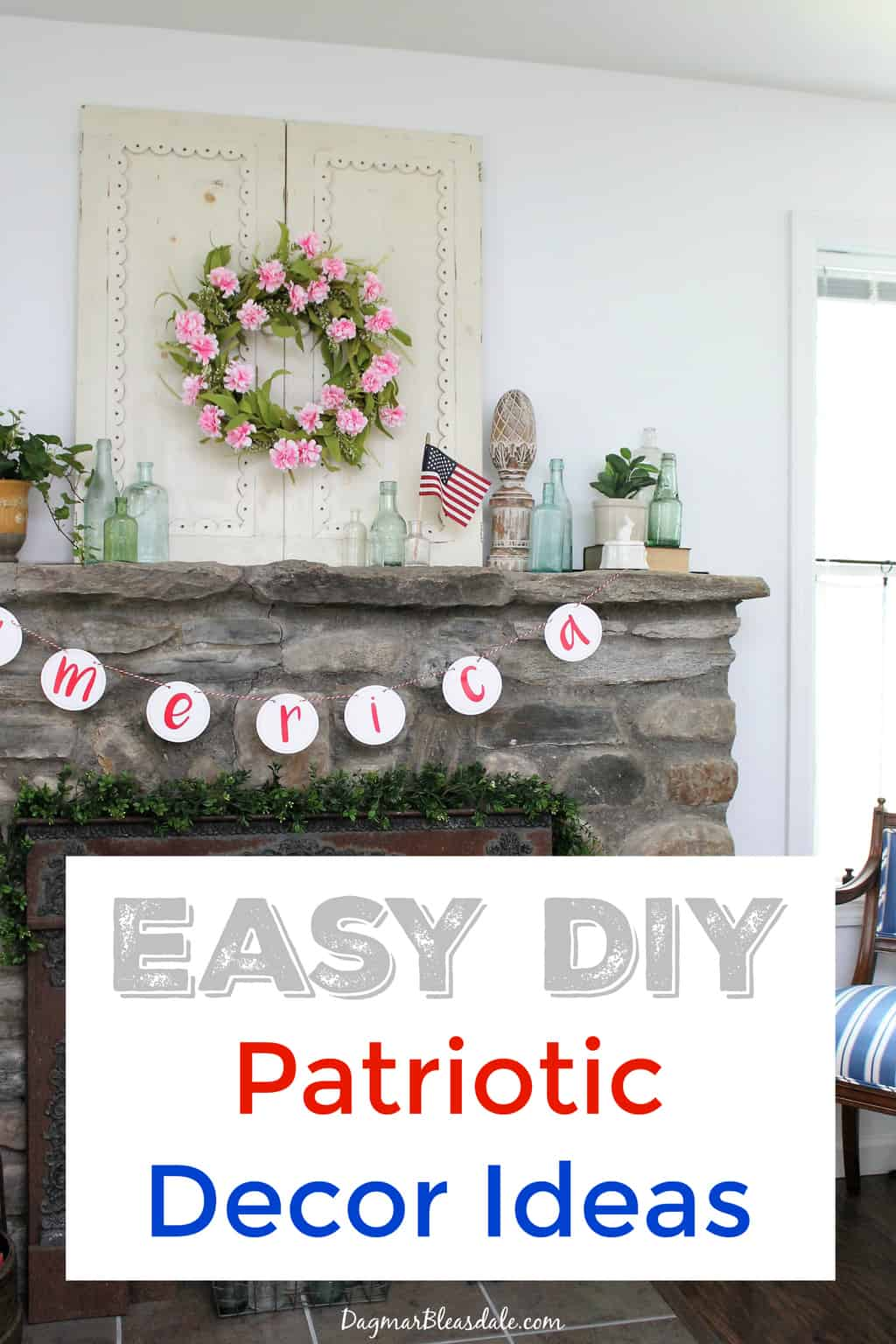 4th of July Decorations, DagmarBleasdale.com