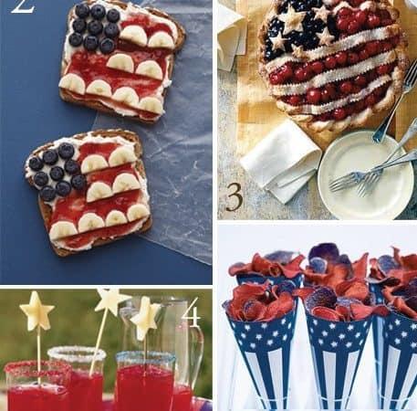 Dagmar's Home Link Party #172 – Healthy Patriotic Snacks