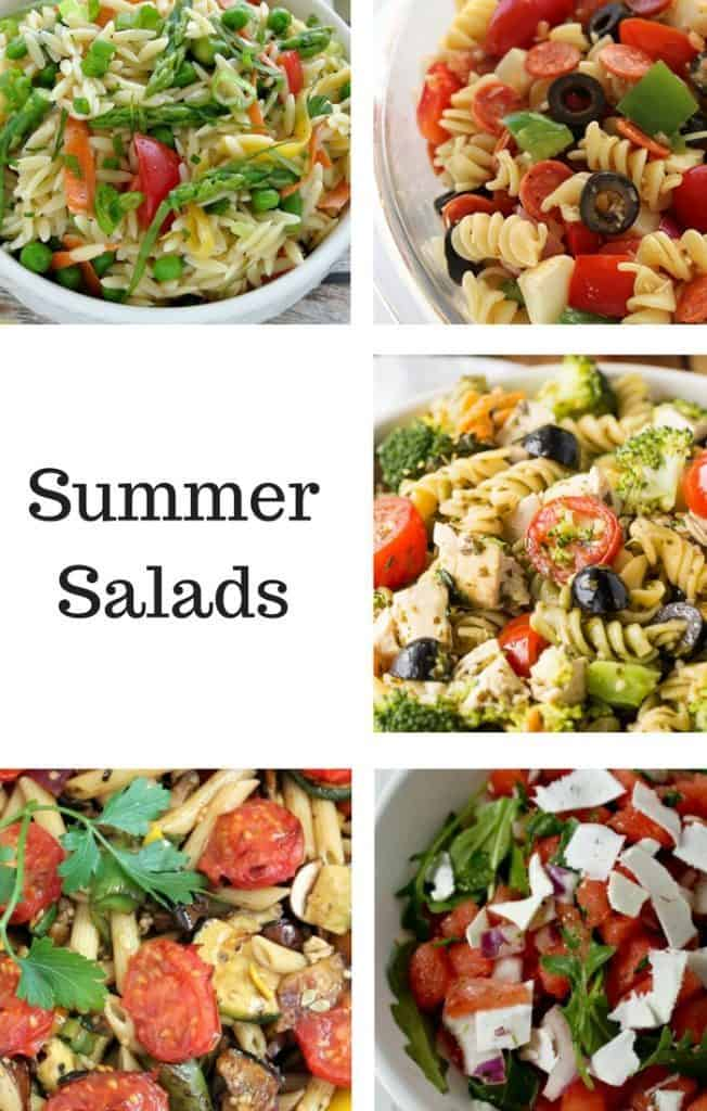 Summer salads recipes
