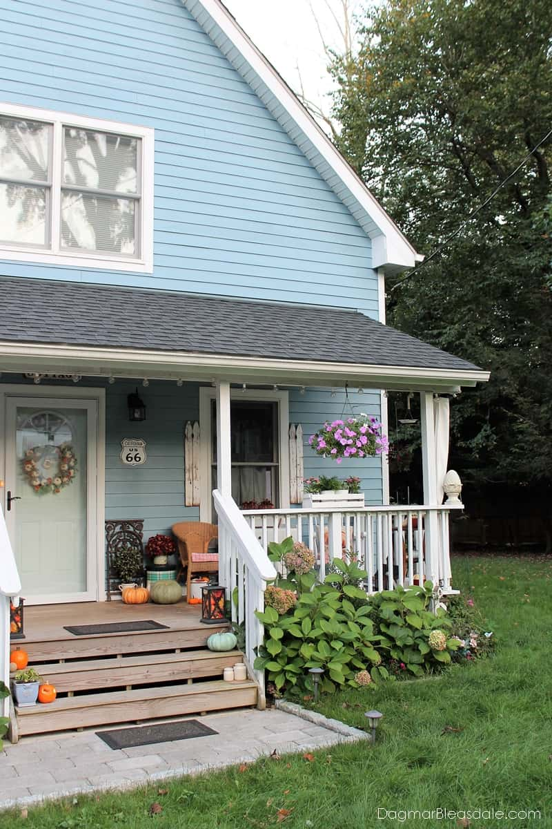 Blue Cottage Fall Home Tour 2017