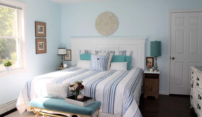 Easy Headboard Makeover & Bedroom Refresh