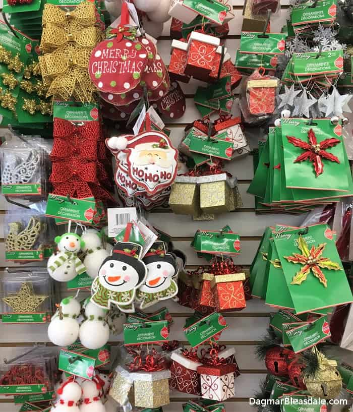 dollar tree christmas decor
