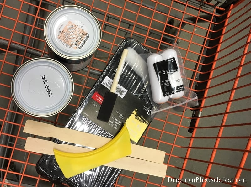DIY painting supplies