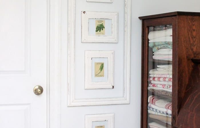 Vintage Seed Packets Decor – Simply Frame Them