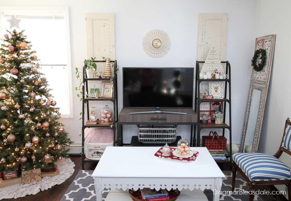 Cottage Christmas home tour DagmarBleasdale.com