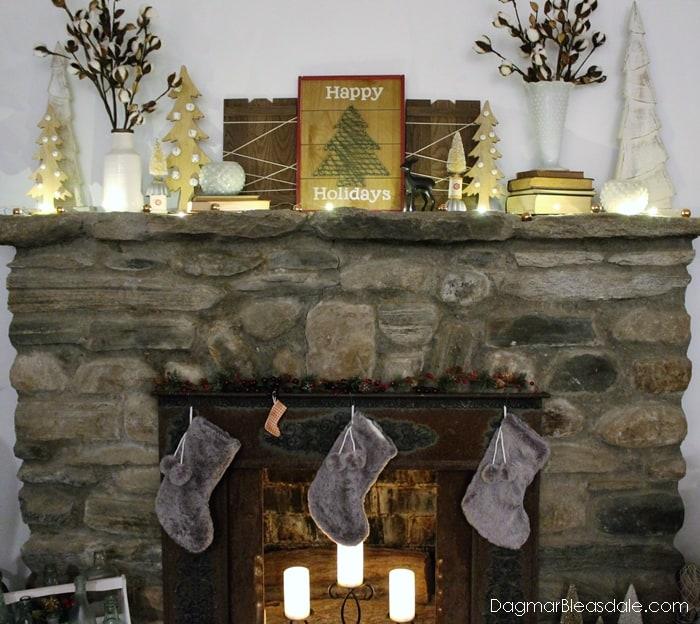 Inexpensive Christmas stockings