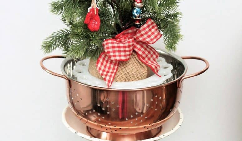 Copper Colander & Dagmar's Home Link Party #194