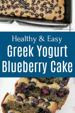 Blueberry Greek Yogurt Cake With Flaxseed Recipe