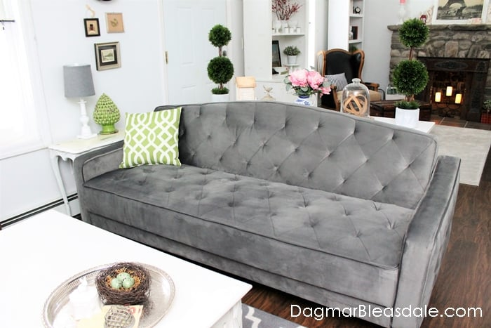 Novogratz Vintage Tufted Sofa Bed For Under 500 Dagmar S Home