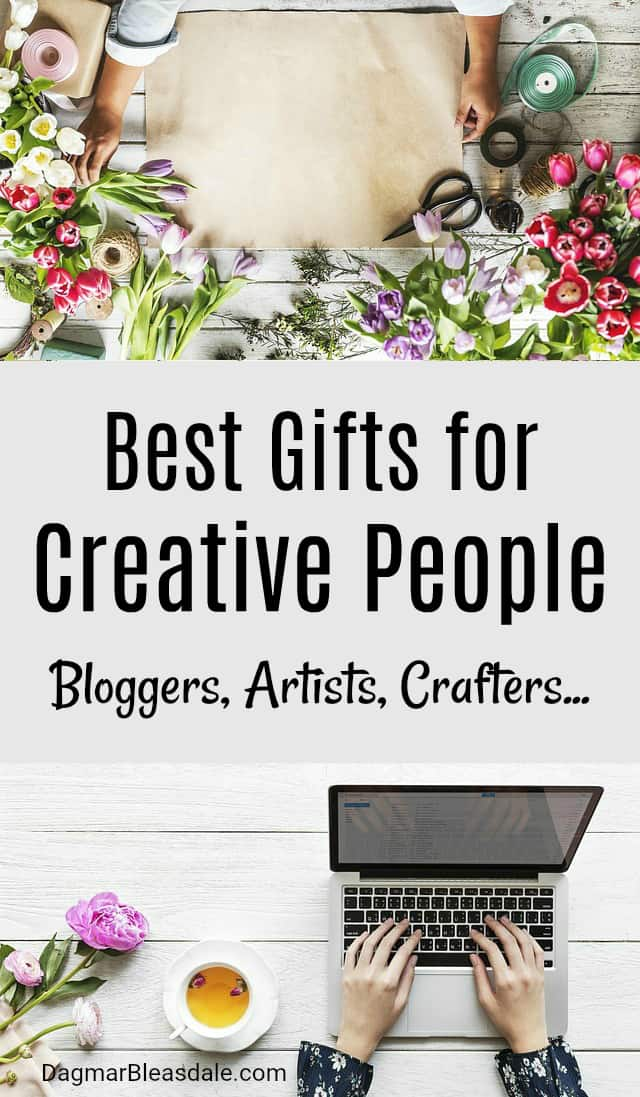 Gifts for Creative People Like Bloggers and Crafters