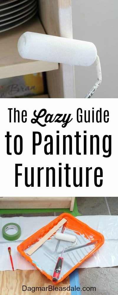 The Lazy Guide to Painting Furniture