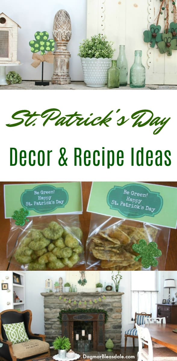 St. Patrick's Day decor and recipes