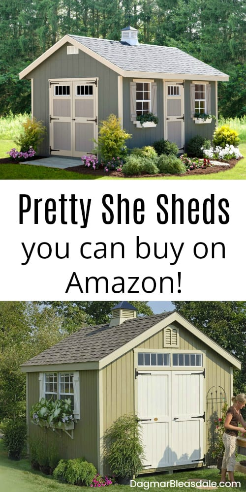 she shed kits from Amazon