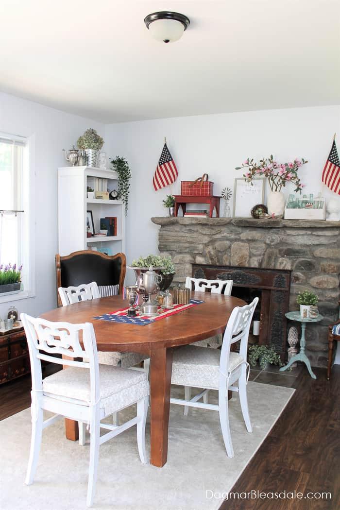patriotic decor farmhouse style
