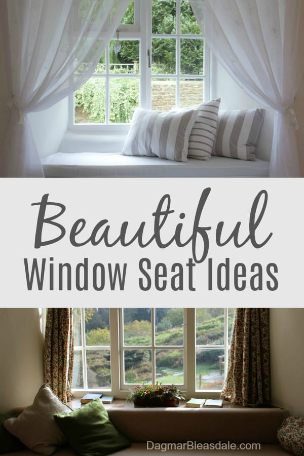window seat ideas, DagmarBleasdale.com