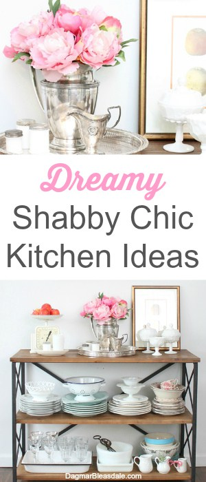 Shabby Chic kitchen ideas pink