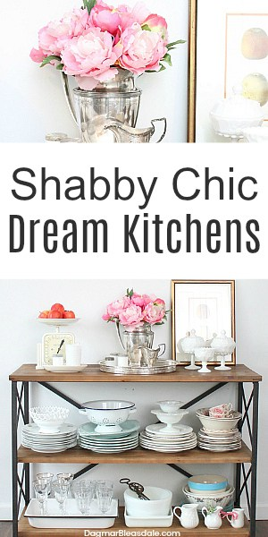 Shabby chic kitchen ideas, DagmarBleasdale.com