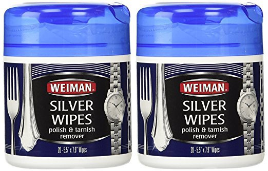 Weiman silver wipes cleaner