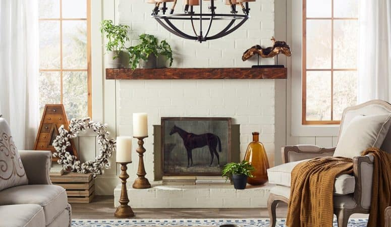 Fall Decor For Less For a Cottage and Farmhouse Look
